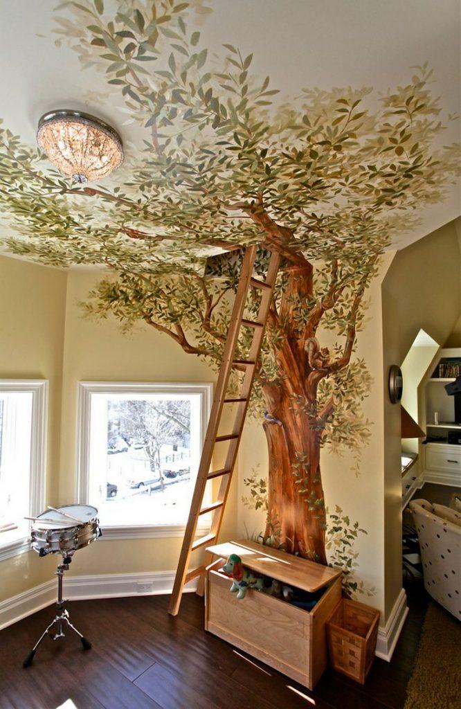 7.Camera din copac