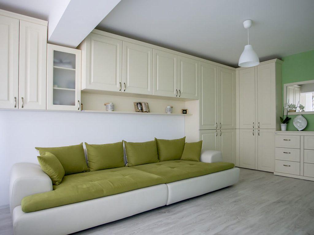 Mobila dormitor vintage - Vanilie