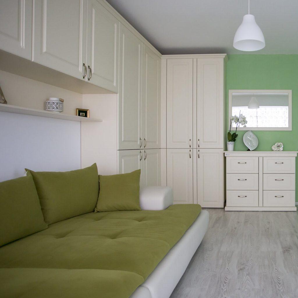 Mobila dormitor vintage – Vanilie