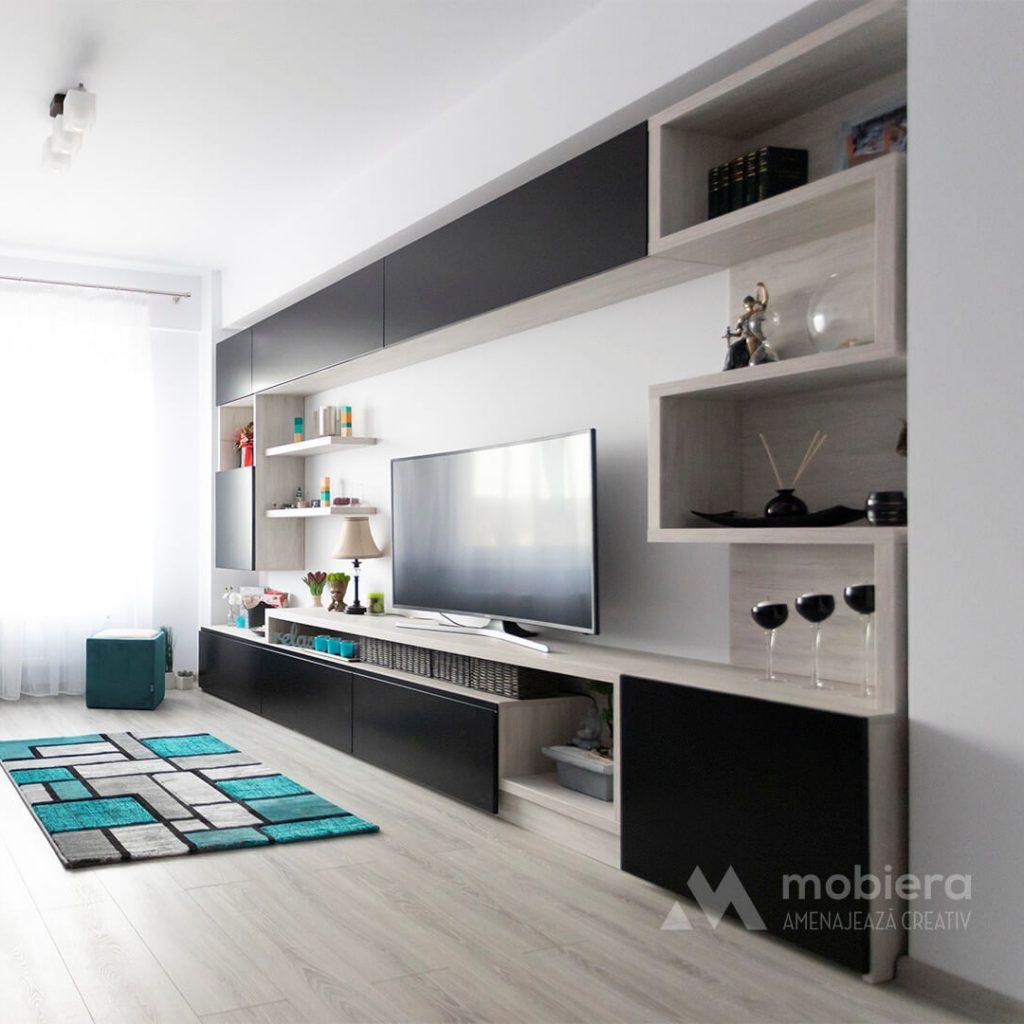 Mobila living Wall-fit