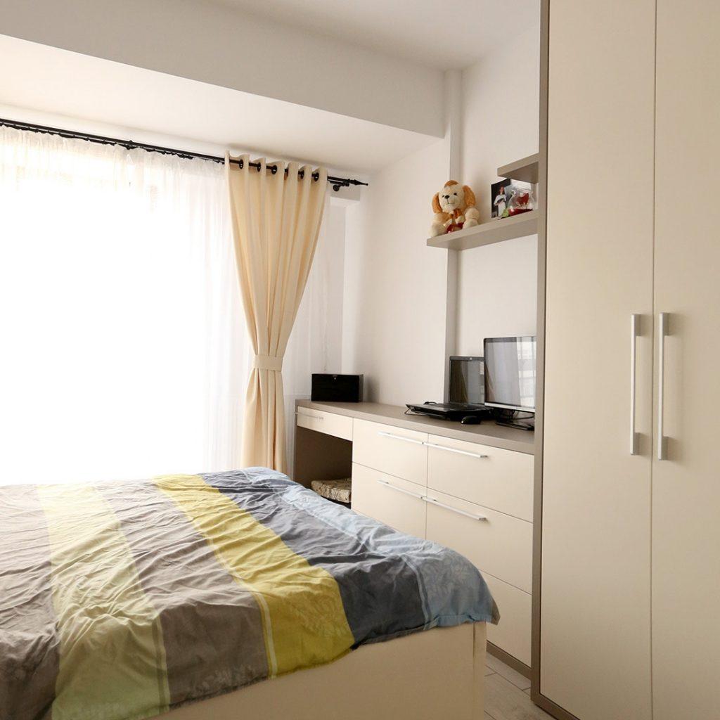 Mobila dormitor gri